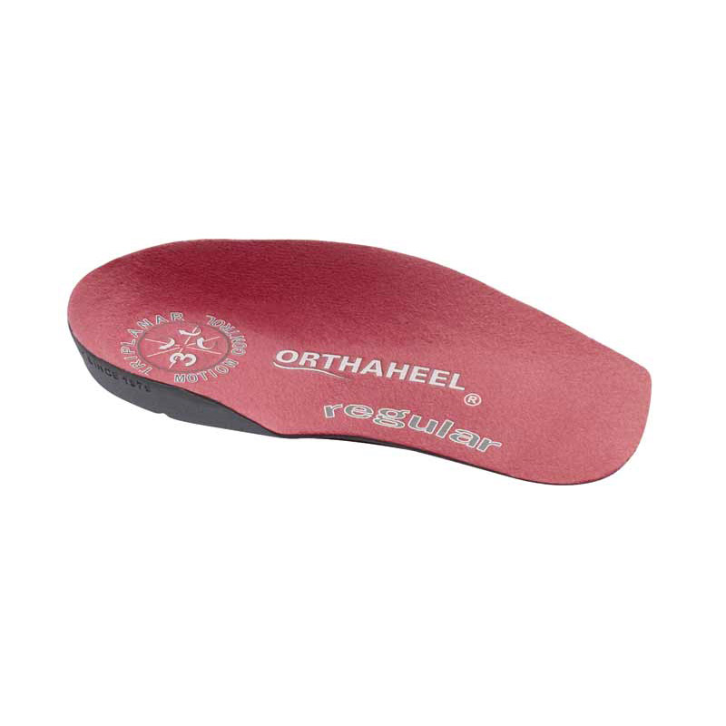 c30862b80998 Scholl Orthaheel Regular 3 4 Length Insoles - ShoeInsoles.co.uk